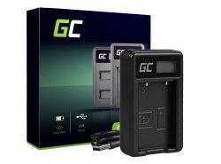 Caricabatterie Fotocamera MH-6 Green Cell ® per Nikon EN-EL5, Coolpix P100, P500, P530, P520, P510, P5100, P5000, P6000, P90