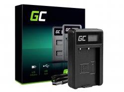 Caricabatterie Fotocamera MH-23 Green Cell ® per Nikon EN-EL9, DSLR D40, D40X, D60, D3000, D5000