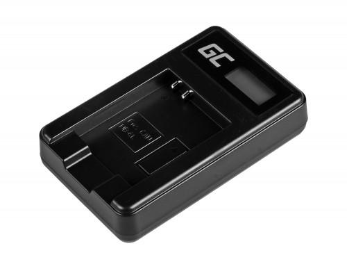Caricabatterie Fotocamera CB-2LY Green Cell ® per Canon NB-6L/6LH, PowerShot SX510 HS, SX520 HS, SX530 HS, SX600 HS, SX700 HS