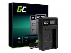 Caricabatterie Fotocamera LC-E17 Green Cell ® per Canon LP-E17, EOS 77D, 750D, 760D, 8000D, M3, M5, M6
