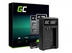 Caricabatterie Fotocamera LC-E12 Green Cell ® per Canon LP-E12, EOS M100, EOS100D, EOS-M, EOS M2, EOS M10, Rebel SL1