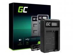 Caricabatterie Fotocamera LC-E10 Green Cell ® per LP-E10, EOS Rebel T3, T5, T6, Kiss X50, Kiss X70, EOS 1100D, EOS 1200D