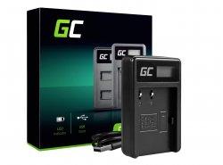 Caricabatterie Fotocamera CB-5L Green Cell ® per Canon BP-511, EOS 5D, 10D, 20D, 30D, 50D, D30, 300D, PowerShot G1, G2