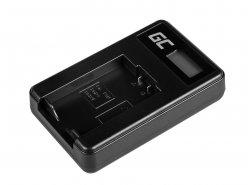 Caricabatterie Fotocamera DE-A83 Green Cell ® per Panasonic DMW-MBM9, Lumix DMC-FZ70, DMC-FZ60, DMC-FZ100, DMC-FZ40