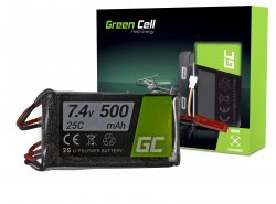 Green Cell ® Batteria 500mAh 7.4V