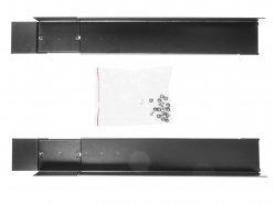 Rotaie di montaggio per gli scaffali Rack 19'' regolabili in lunghezza 600mm-800mm, 2 pezzi