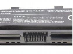 Batteria Green Cell ® PA5024U-1BRS PA5109U-1BRS PA5110U-1BRS per Portatile Laptop Toshiba Satellite C850 C855 C870 L850 L855