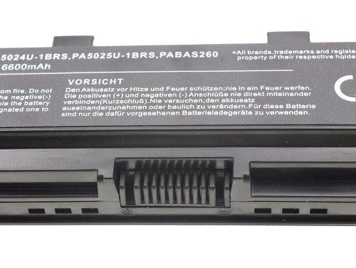 Green Cell ® Batteria PA5024U-1BRS PA5109U-1BRS PA5110U-1BRS per Portatile Laptop Toshiba Satellite C850 C855 C870 L850 L855