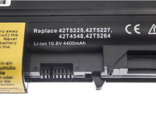 Green Cell ® Batteria 42T5225 per Portatile Laptop IBM Lenovo ThinkPad T61 R61 T400 R400