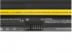 Batteria Green Cell ® 42T4893 42T4894 per Portatile Laptop IBM Lenovo ThinkPad X120 Edge 11 E10 Mini 10