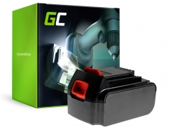 Green Cell® Batteria (3Ah 18V) BL1518 BL2018 BL3018 BL4018 per Black&Decker ASD18K BDCDC18 BDCDC18BAFC GKC1825L20 GWC1820PCB