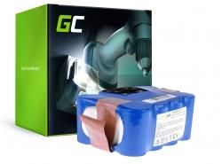 Green Cell ® Batteria Aspirapolvere per EcoGenic, Hoover, Indream, JNB, Kaily, Robot, Samba