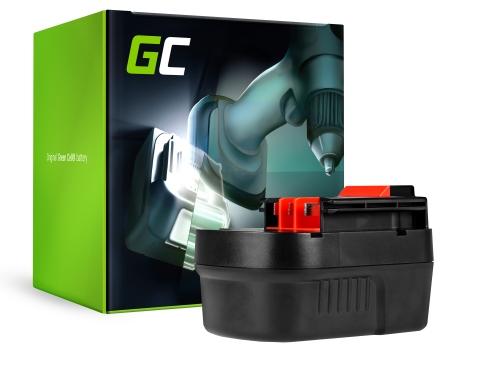 Green Cell ® Batteria per Black&Decker HP126F3 12V 2Ah