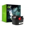 Batteria Green Cell (2Ah 12V) 4932 3525 32 4932 3996 96 B1215R B1214G M1230R per AEG BSS FL BS BSB BBM BS12G 12 X G 12X-R X-R