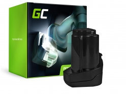 Green Cell ® Batteriaper Metabo 6.25439 10.8V 2Ah