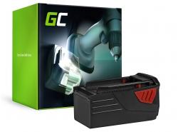 Green Cell ® Batteriaper HILTI TE6A 36V 3Ah
