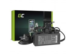 Green Cell ® Ladegerät für Toshiba Satellite N136 V85 A200 PRO L10 L20 L30