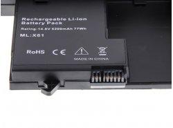 Batteria Green Cell ® 93P5031 per Portatile Laptop IBM Lenovo ThinkPad Tablet PC X60 X61