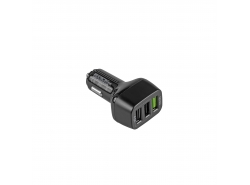 Caricabatteria per auto 3 USB  Quick Charge Green Cell