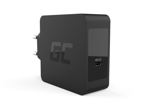 Green Cell Caricabatterie USB-C 60 W con cavo USB-C per Apple MacBook Pro 13, Asus ZenBook, HP Spectre, Lenovo ThinkPad e altri