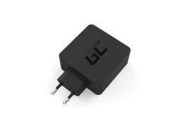Green Cell 45 W USB-C PD Caricabatterie con cavo USB C e ulteriore Collegamento USB