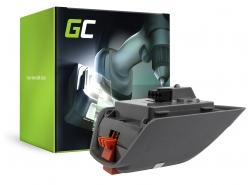 Green Cell® Batteria (2.5Ah 18V) per Gardena Comfort 35 Roll-Up 8025-20