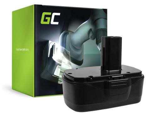 Batteria Green Cell (3Ah 19.2V) 11375 11376 per Craftsman C3 XCP 19.2V CRS1000 ID2030 11485 114850 114852 115410 17191 5727.1