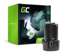 Green Cell ® Batteria BL1013 BL1014 per Makita DA331DWE DF030D DF330D HP330DZ HS300DW TD090