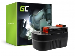 Green Cell ® Batteria A14 HPB14 FSB14 per Black&Decker CP14K EPC14 EPC14CA HP142K XTC143 Firestorm FS1400 FS14PS PS142K