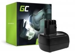Green Cell ® Batteria 6.25470 per Metabo BSZ 9.6 BZ 9.6 Impuls ULA 9.6-18
