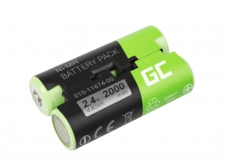 Green Cell ® Batteria 010-11874-00 per GPS Garmin Astro 430 Oregon 600 700 750T GPSMAP 64 64s 66s Striker 4