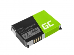 Green Cell ® Batteria 010-11143-00 per GPS Garmin SafeNav Aera 500 Zumo 220 660LM