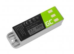 Green Cell ® Batteria 010-10863-00 per GPS Garmin Zumo 400 450 500 Deluxe