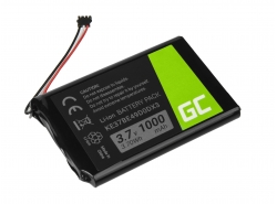 Batteria Green Cell ® KE37BE49D0DX3 per GPS Garmin Edge 800 810 Nuvi 1200 1260 2300 2460 2475 2515 2789LMT, Li-Ion 1000mAh 3.7V