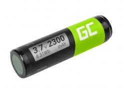 Batteria Green Cell ® VF5 per GPS TomTom Go 300 400 4D00.001 500 510 510T 530 530T 700 700T 710 910, Li-Ion Celle 2300mAh 3.7V