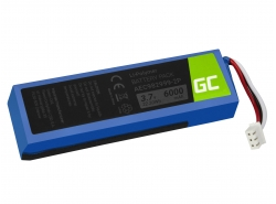 Green Cell ® Batteria AEC982999-2P AEC9829992P per altoparlante wireless  JBL Charge 1 Charge 2, Li-Polymer 3.7V 6000mAh