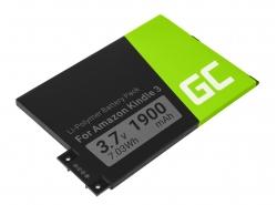 Green Cell ® Batteria 170-1032-01 per Amazon Kindle 3 Keyboard 2010 D00901 E-book reader