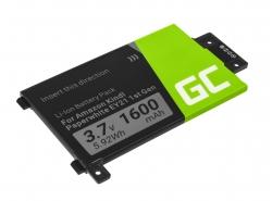 Green Cell ® Batteria 58-000008 per Amazon Kindle Paperwhite I 2012 E-book reader