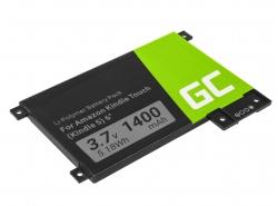 Green Cell ® Batteria 170-1056-00 per Amazon Kindle Touch 2011 E-book reader