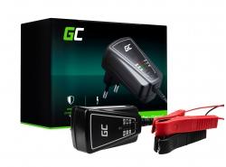 Green Cell Inteligente Caricabatterie Mantenitore Batteria per auto AGM 6/12V 1A