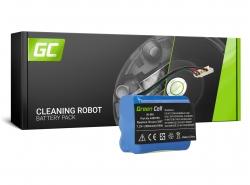 Batteria Green Cell (2.5Ah 7.2V) 4409709 GPRHC202N026 per aspirapolvere iRobot Braava Mint 380 380T 381 390 5200 5200B 5200C