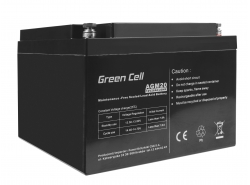 Green Cell ® Batteria al Gel AGM VRLA 12V 26Ah