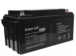 Green Cell ® Batteria al Gel AGM VRLA 12V 65Ah