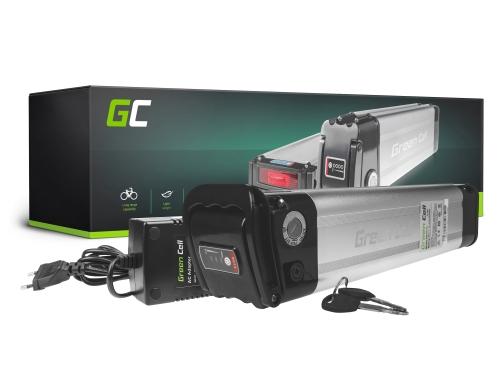 Green Cell® Batteria per Bicicletta Elettrica 36V 14.5Ah Pedelec Frame-Type Li-Ion Batteria per Bici Elettrica e Caricabatterie