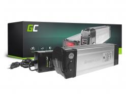 Green Cell ULTRA® Batteria per Bicicletta Elettrica 48V 20.4Ah Silverfish E-Bike Pedelec Li-Ion + Caricabatterie