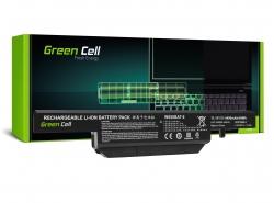Batteria Green Cell ® W650BAT-6 per Portatile Asus AsusPRO P2420L P2420LA P2420LJ P2440U P2440UQ P2520 P2520L P2520LA P2520LJ