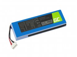 Green Cell Batteria GSP1029102 MLP912995-2P per altoparlante JBL Charge 2 Charge 2 Plus Charge 2+ Li-Polymer 3.7V 6000mAh