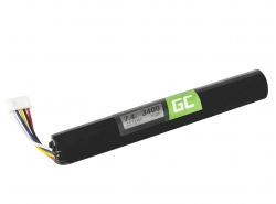 Green Cell Batteria J406/ICR18650NH-2S per altoparlante B&O BeoLit 15 BeoLit 17 BeoPlay A2 BeoPlay A2 Active, 7.4V 3400mAh
