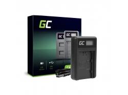 Caricabatterie Fotocamera BC-QZ1 Green Cell ® per Sony NP-FZ100 Alpha A7 III A7R III A9 A9R A9S ILCE-7M3 7RM3
