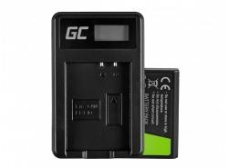 Green Cell ® Batteria LP-E10 e Caricabatterie LC-E10 per Canon EOS Rebel T3, T5, T6, Kiss X50, Kiss X70, EOS 1100D